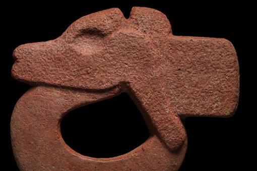 Veracruz Openwork Stone Hacha of Deer