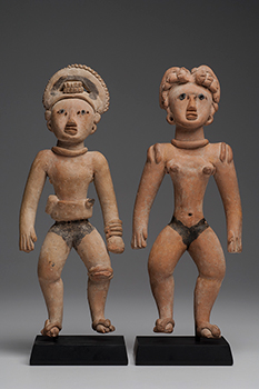 Huastec Male & Female Standing Couple