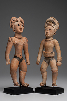 Huastec Male & Female Standing Couple
