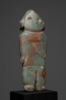 Rare Colima Onyx Amulet Standing Man